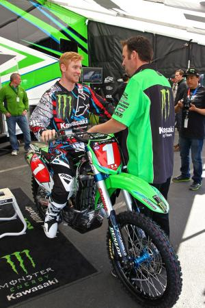 Ryan Villopoto and Mike Wilkinson