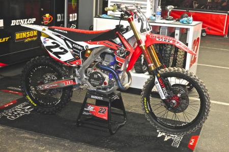 Chad Reed Honda CRF450R