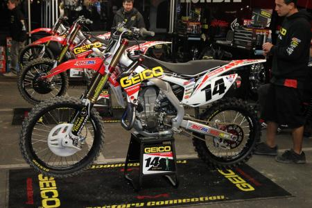 Kevin Windham Factory Honda with Works Suspension