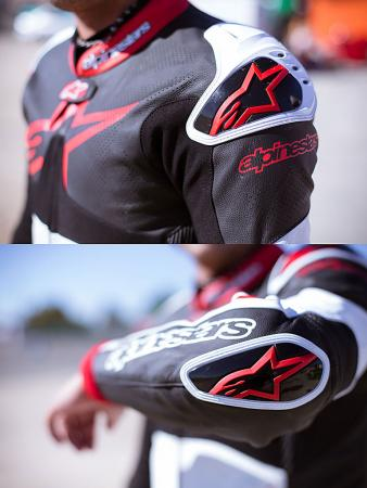 Alpinestars Atem Leathers Shoulder Elbow