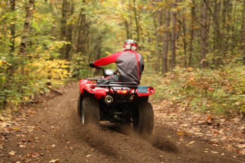 ATV Riding Ganaraska Forest