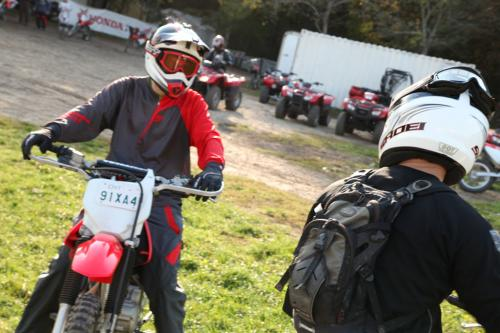 Learning To Ride Off-Road Motorcycles