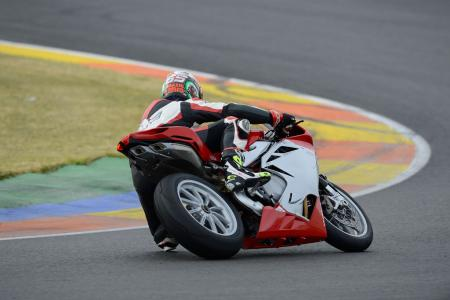 2013 MV Agusta F4 Action Rear Cornering
