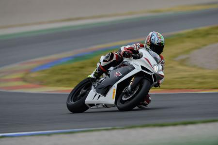 2013 MV Agusta F4 RR Action Cornering