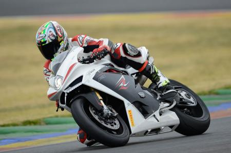 2013 MV Agusta F4 RR Action Left