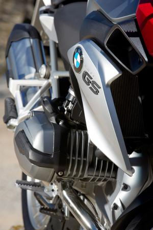 2013 BMW R1200GS Detail Engine Intakes