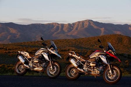 2013 BMW R1200GS Pair Scenic