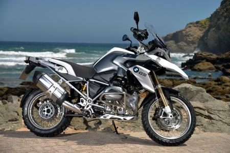 2013 BMW R1200GS White Right Side