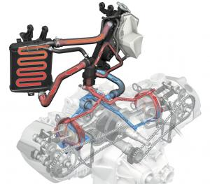 2013 BMW R1200GS Engine Sketch