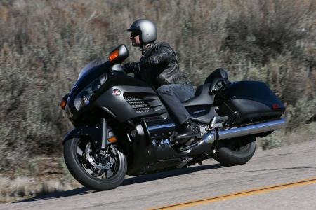 2013 Honda Gold Wing F6B Action Left Front Black