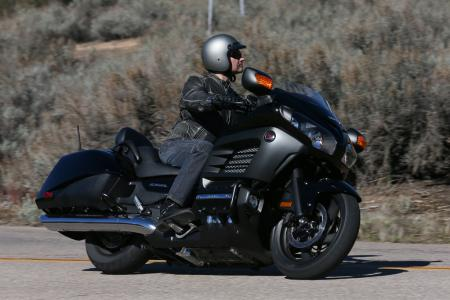 2013 Honda Gold Wing F6B Action Right Black