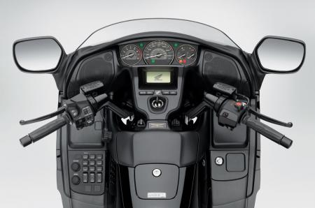 2013 Honda Gold Wing F6B Cockpit