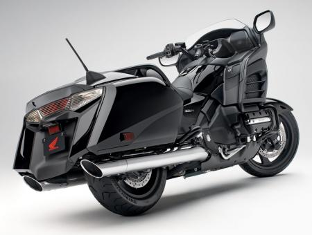 2013 Honda Gold Wing F6R Right Rear