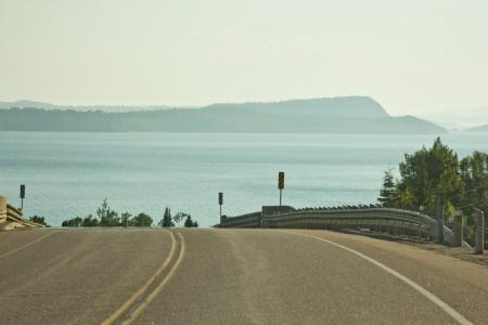 Open Road To Agawa Bay