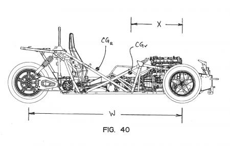 Polaris Trike Patent Profile Stripped