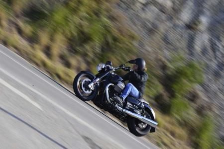2013 Moto Guzzi California 1400 Custom Action Left