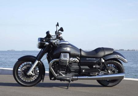 2013 Moto Guzzi California 1400 Custom Profile Left