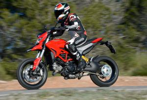 2013 Ducati Hypermotard Action Left