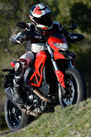 2013 Ducati Hypermotard Front Right
