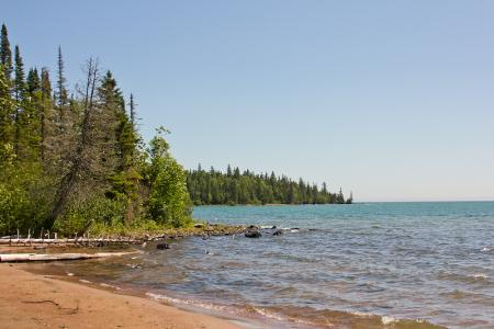 Lake Superior at Sleeping Giant
