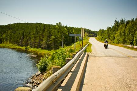 Motorcycle Riding Sturgeon Lake