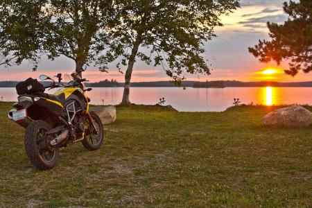 Motorcycling in Ignace Ontario