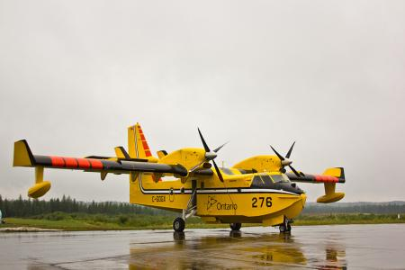Waterbomber Fire Management