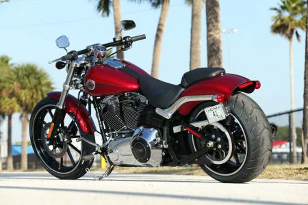 2013 Harley-Davidson Breakout Left Rear