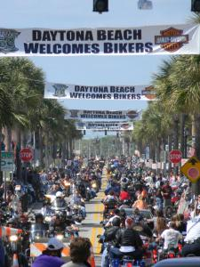 Daytona Bike Week Main Street
