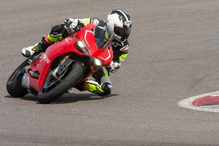 2013 Ducati 1199 Panigale R Action Cornering