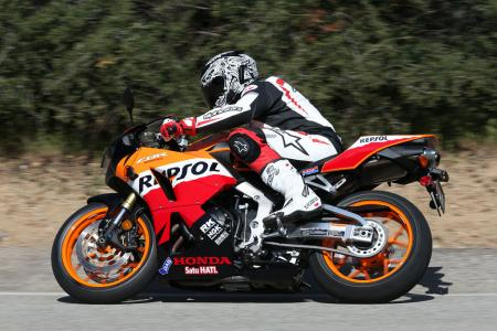 2013 Honda CBR600RR Action Left