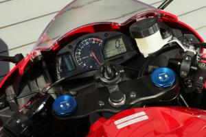 2013 Honda CBR600RR Red Gauges