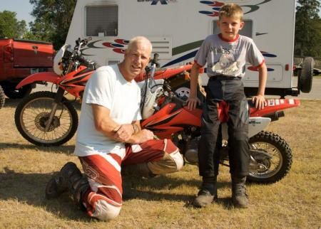 Dirt Bike Family
