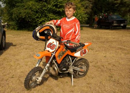 Young Off-Road Rider