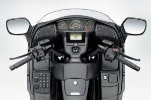 2013 Honda Gold Wing FB6 cockpit