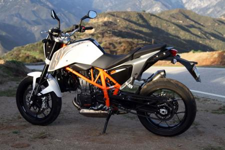 2013 KTM 690 Duke left static