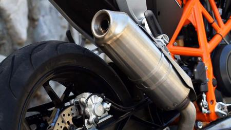 2013 KTM 690 Duke exhaust