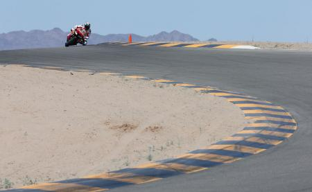 2013 Honda CBR600RR Track Action WING4510