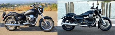 Moto Guzzi California Black Eagle vs California 1400 Custom