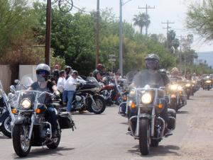 2013 Arizona Bike Week Hamsters Charity Dry Heat Run