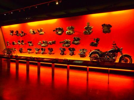 Harley-Davidson Museum Engine Room