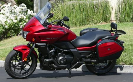 2014 Honda CTX700 Left Side