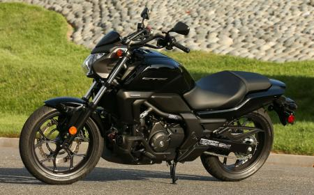 2014 Honda CTX700N Left Side