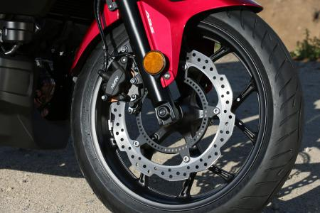 2014 Honda CTX700 Front Wheel