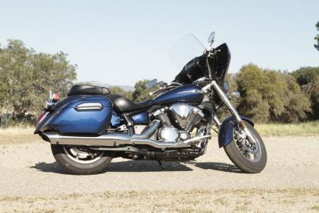 2013 Touring Cruiser Shootout V Star 1300 Profile