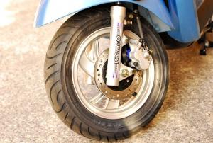 2013 Kymco Compagno 110i Front Wheel