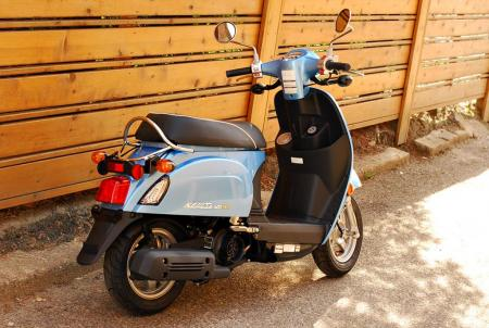 2013 Kymco Compagno 110i Right Rear