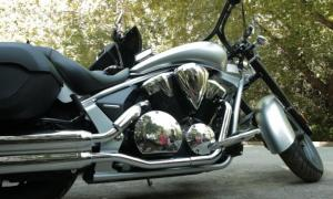 2013 Touring Cruiser Shootout Honda Interstate Engine