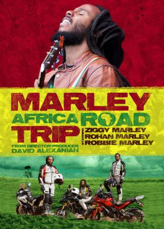 Marley Road Trip DVD cover