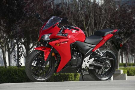 2013 Honda CBR500R left stationary